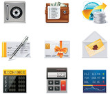 Vector banking icons. Part 2