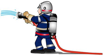pompier et LDV