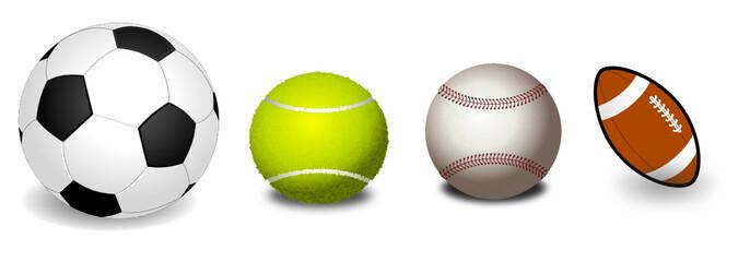 Balles et ballon.