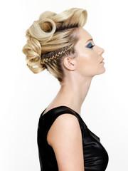 Beautiful modern hairstyle