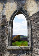 An old window of Venatian