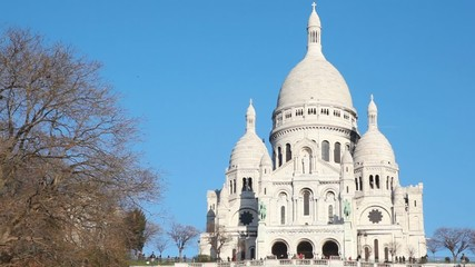 Sacre Coeur Basilica of Sacred Heart of Jesus Montmartre