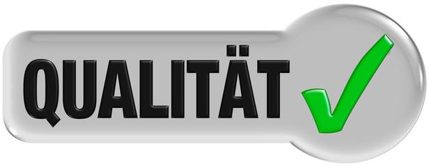 Button grau eckig/rund QUALITÄT
