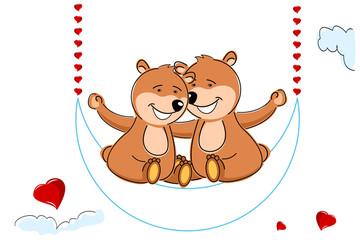 loving teddy bears