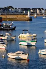 Port Maria de Quiberon dans le Morbihan en Bretagne