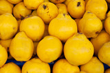 Mellow yellow sweet quince poster