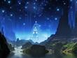 Crystalline City of Blue Light
