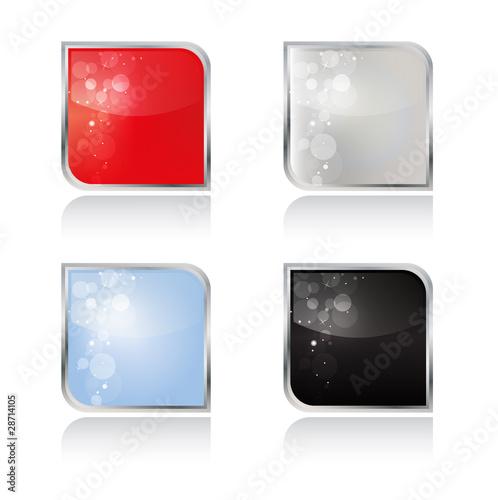 Leere Buttons