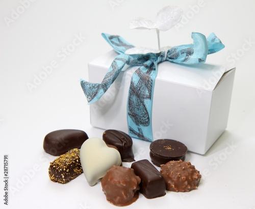 Papiers peints Confiserie ballotin de chocolats