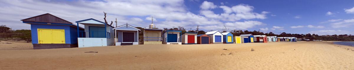 Strandhäuser, Panorama