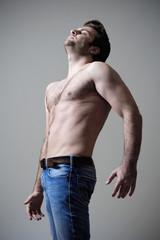 musculous man