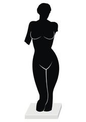 Sculpture - Torso of Venus (Aphrodite) - goddess of love