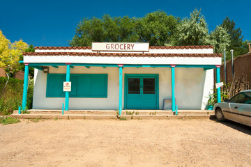 Grocery Store Turquoise Santa Fe New Mexico South Western Style