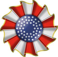 coccarda USA - USA cockade