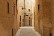 Old narrow  street of european town
