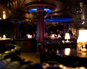 Luxury restaurant interior
