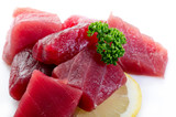 raw tuna ready to cooking-tonno crudo