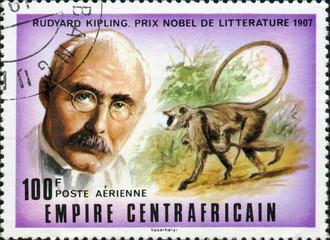 Rudyard Kipling, prix Nobel de littérature 1907.