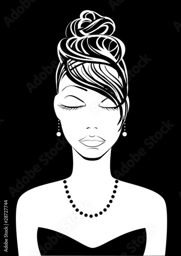 woman 2 with updo