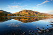 canvas print picture - Lake Buttermere Lake District