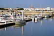 Port de Royan en Poitou-Charentes - France