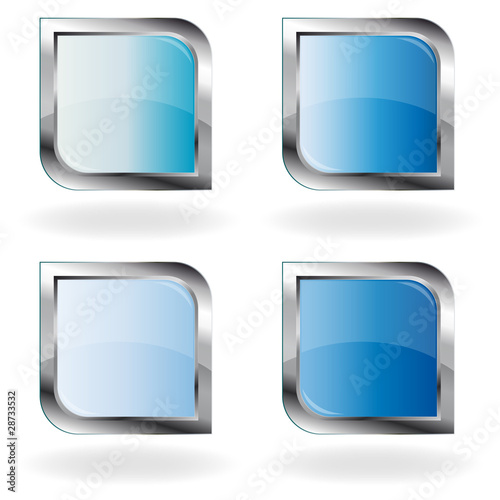 Leere Blaue Icons