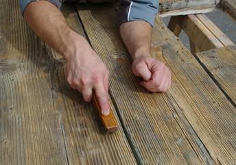 rénovation de bois