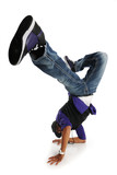 Fototapety Hip Hop Style Dancer performing