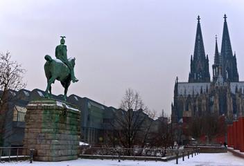 Kölner Dom, Kaiser Wilhelm II, Denkmal