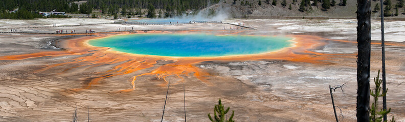 Grand Prismatic Spring Panoramic