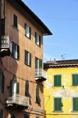 Old italian buildings