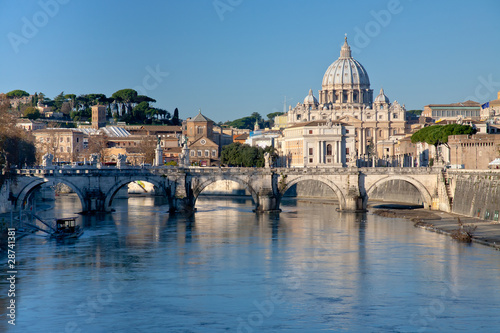 view on St Peter Basilica