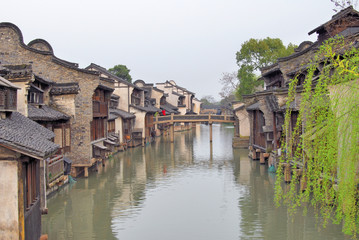 Jangsu, the Xizha ancient village