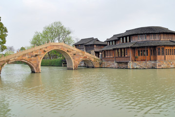 Jangsu, the Xizha old village