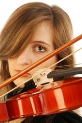 Donna con violino 005