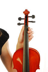 Donna con violino 013