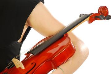 Donna con violino 028
