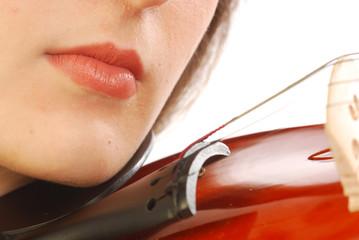 Donna con violino 040