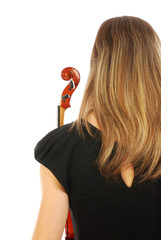 Donna con violino 055