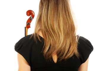 Donna con violino 053