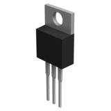 Electronic component in TO-220 package poster