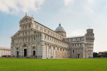 Pisa tower and cathedral
