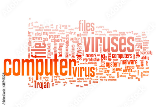 "Word Cloud ""Computer Virus"""