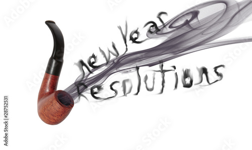 new year resolution pipe