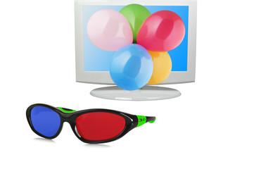 Occhiali e TV 3D
