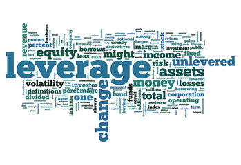 "Word Cloud ""Leverage"""
