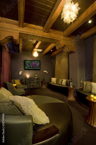 Private Lounge in a Boutique Hotel