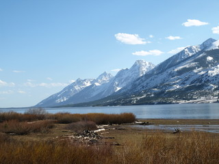 Glaciers @ Jackson Lake, Gran Teton Nationalpark