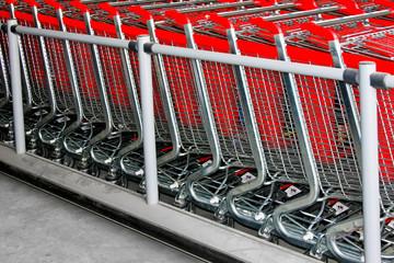 Shopping carts angle