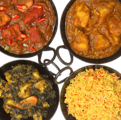 Indian Curry Food & Rice